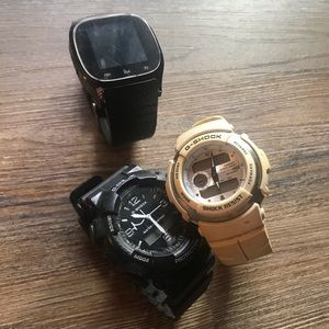 Bundle of 3 watches